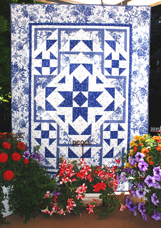 Serenity Flower Box Quilts
