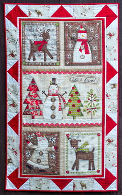 Holiday Stitches Quilt - Flower Box Quilts : flower box quilts - Adamdwight.com