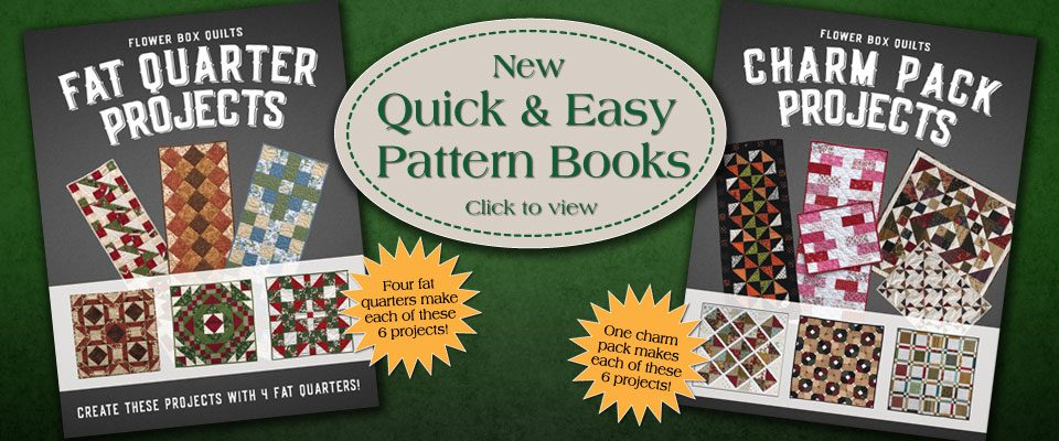 Flower Box Quilts - Sewing and Quilting Patterns by Michele Crawford : flower box quilts - Adamdwight.com
